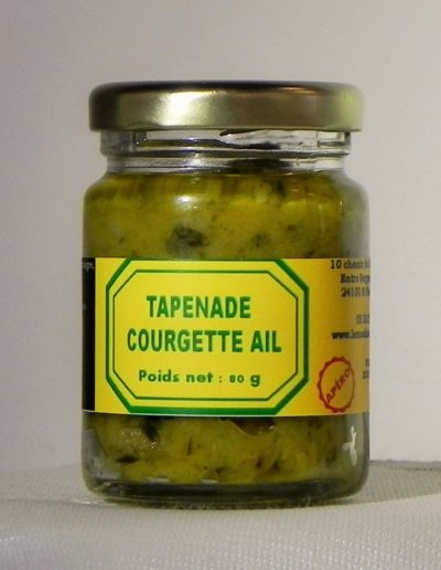 Tapenade Courgette Ail