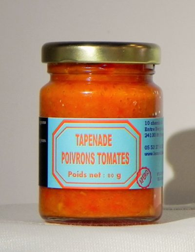Tapenade Poivrons Tomates