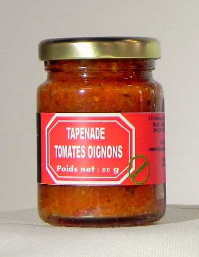 Tapenade Tomates Oignons